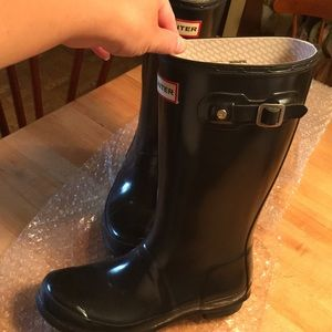 Hunter Shoes - Hunter Boots Girl Size 4